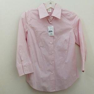 Jcrew pink shirt